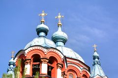 Cathedral  of the Kazan Icon of the Mother of God in irkutsk city, Russia Stock Photo
