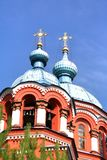 Cathedral  of the Kazan Icon of the Mother of God in irkutsk city, Russia Stock Photography