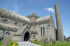 Cathedral in Kilkenny, Ireland. The cathedral of Kilkenny, in Ireland stock photos