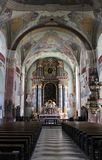 The Cathedral of Klagenfurt Stock Photos