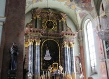 The Cathedral of Klagenfurt Royalty Free Stock Images