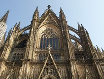 Cathedral in Koeln. Koelner Dom gothic cathedral church in Koeln, Germany Stock Photo