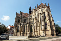 Cathedral in Kosice city. Royalty Free Stock Photo