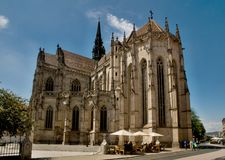 Cathedral in Kosice city. Royalty Free Stock Image