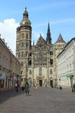 Cathedral in Kosice Royalty Free Stock Image