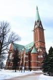 Kotka Cathedral. Stock Image