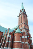 Kotka Cathedral. Stock Photo