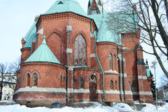 Kotka Cathedral. Royalty Free Stock Images