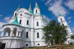 The Cathedral in Kozelets, Ukraine Royalty Free Stock Photography