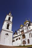 Cathedral in Kremlin of Dmitrov Stock Photos