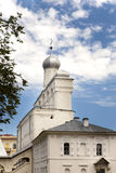 Cathedral in Kremlin, Great Novgorod, Russia Royalty Free Stock Photo
