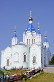 The Cathedral in Kursk. The Cathedral of Kursk root Hermitage Royalty Free Stock Photography