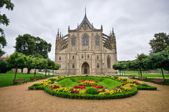 Cathedral in Kutna Hora, Czech Republic Stock Photo