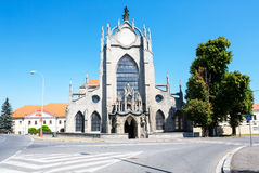 Cathedral in Kutna Hora Stock Photography