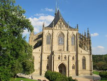 Cathedral in Kutna Hora Stock Image