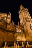 Cathedral La Giralda at Sevilla Spain Stock Photography