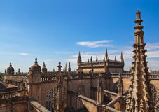 Cathedral La Giralda at Sevilla Spain Royalty Free Stock Image