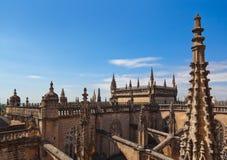 Cathedral La Giralda at Sevilla Spain Royalty Free Stock Image