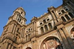 Cathedral La Manquita Malaga Stock Image