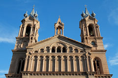 Cathedral - La Rioja Royalty Free Stock Photography