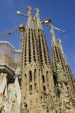 Cathedral La Sagrada Familia. Royalty Free Stock Images