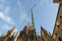 Cathedral (La Seu) of Barcelona, Spain Stock Photo