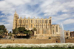 Cathedral of la Seu Majorca Stock Photography