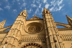 Cathedral La Seu Royalty Free Stock Photography