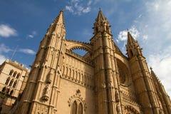 Cathedral La Seu. In Palma de Mallorca Stock Photography