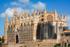 Cathedral La Seu Stock Photography