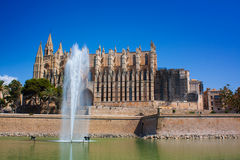 Cathedral La Seu Royalty Free Stock Image