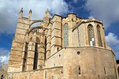 Cathedral La Seu in Palma de Mallorca Royalty Free Stock Photos
