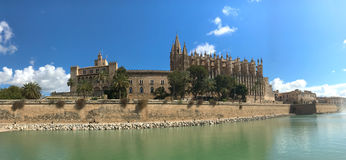 Cathedral La Seu in Palma de Mallorca Stock Photography