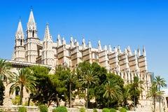 Cathedral La seu stock image