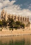 Cathedral La Seu in Palma de Mallorca, Mallorca Royalty Free Stock Photos