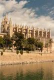 Cathedral La Seu in Palma de Mallorca, Mallorca Royalty Free Stock Photos