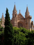 Cathedral of La Seu, Palma de Mallorca, Spain Royalty Free Stock Image