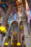 Cathedral La Seu Palma de Mallorca Royalty Free Stock Photo