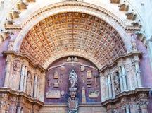 Cathedral La Seu Palma de Mallorca Stock Images