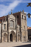 Cathedral of Lamego. View of the main facade of the Cathedral of Lamego, Portugal Royalty Free Stock Images