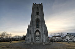 Cathedral Landakotskirkja, Iceland Stock Photography