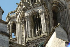 Cathedral of Laon Royalty Free Stock Photography