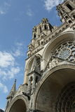 Cathedral of Laon Royalty Free Stock Images
