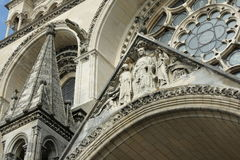 Cathedral of Laon Royalty Free Stock Photos