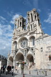 Cathedral of Laon Stock Photography