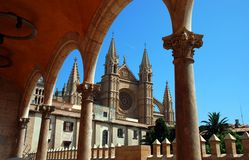 Cathedral Le Seu Royalty Free Stock Photo