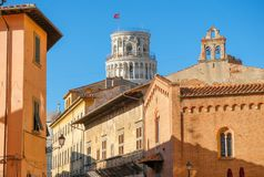 Leaning Tower of Pisa royalty free stock photo
