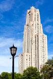 Cathedral of Learning in Pittsburgh Stock Photography