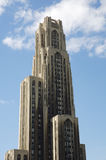 Cathedral of Learning in Pittsburgh Royalty Free Stock Images