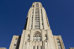 The Cathedral of Learning Royalty Free Stock Photo